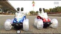 遥控车越野车2翻斗车玩具车赛车漂移声光玩具ae特效【活石玩具】