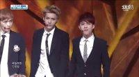 20130818 韓國SBS電視台《人氣歌謠》 EXO — 《Growl(咆哮)》(最棒的現場應援之一)