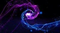 AE模板2395 粒子光线飞舞穿梭Logo展示AE模板