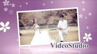 会声会影X6X7模板 时尚婚礼相册 动感电子相册 婚礼开场 韩式相册 玫瑰爱情