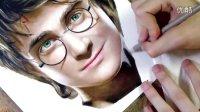 哈利·波特-彩铅写实明星画像(Heather Rooney)
