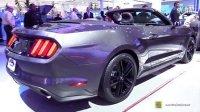 车展实拍2015福特野马Ford Mustang Convertible Premium
