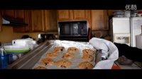 【Ada Wu】超简易十分钟美食视频 -燕麦葡萄干果仁曲奇 - 超脆口!