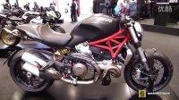 2015 全新杜卡迪(怪兽)Monster 1200超级街跑 米兰摩托车展静态实拍展示