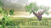 Cinema 4D 樹木生長隨風飄動教程含教程素材下載
