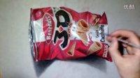 国外牛人手绘3D食品包装袋 - by TutoDraw