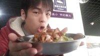 公介在清华大学紫荆食堂吃了炸鸡饭 39