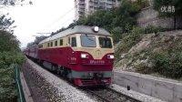 [拍火车]DF4D+25G西安-广州[K645]乱入! 广-沙段蒋家垅下行