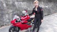 泰国美女驾驭 杜卡迪 899 panigale