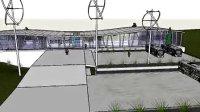 天峻游客服务中心-建筑设计