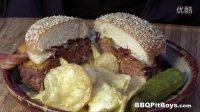 201503肯塔基猪肝肠培根芝士汉堡 土豪BBQ八周年 美国佬土豪BBQ吃法 soso字幕