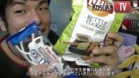 公介品尝乐事薯片芥末红姜味和奥利奥巧克力曲奇饼干 103