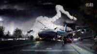 [PS]youtube-photoshop创意资源站PS创意平面教程-飞机失事