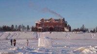 看过哈尔滨冰雪大世界坐火车去漠河北极村 31 中国最北点漠河北极村