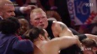 WWE史上最火爆冲突 UT莱斯纳互殴30人拉不住