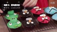 【微博@肥肉ai烘焙】愤怒的小鸟杯子蛋糕