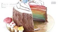 【微博@肥肉ai烘焙】树桩彩虹蛋糕教程  韩式裱花
