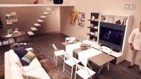 欧式客厅装修效果图 客厅装修 客厅电视背景墙 客莱尔整体定制衣柜