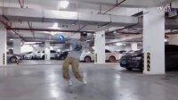 【Jun】即兴Poppin之小Jun雅兴的到地下停车场来一发POPPIN-BGM:Neo City-Synx-20150816龙光普罗旺斯向日葵庄园地下停车场