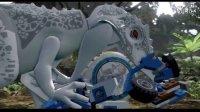 乐高侏罗纪世界【陀螺球逃亡真正的生存者第二十期】恶之花THE无节操娱乐解说手残玩法