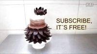 分享篇-简单巧克力片装饰蛋糕