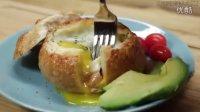 【大吃货爱美食】早餐新选择:试试这个美味的早餐面包碗吧~ 150820