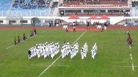 2015.9.5天泰橄榄球中场休息小学生表演