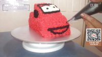 【微博@肥肉ai烘焙】视频淘宝扫码有礼!   奶油霜汽车裱花 韩式裱花蛋糕