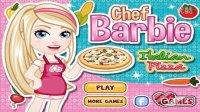 芭比娃娃之梦想豪宅小游戏之一起作比美味比萨❤卤肉解说❤