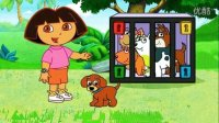 ★爱探险的朵拉历险记★朵拉冒险拯救被困的小狗4399小游戏