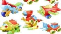 亲子游戏 萌宝秀★猪猪侠VS恐龙大世界 拆装之王恐龙玩具总动员★愤怒的小鸟PK恐龙大战