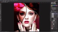 [PS]PS基础教程Photoshop实战案例学习教程之创意合成PS美容圣品上集