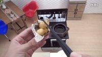 [Miniature Space]迷你食物 迷你烹饪 炸热狗