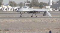 """近距离观看世界上最先进的侦查无人机——MQ-1 捕食者 和MQ-9 """"死神""""无人机"""