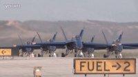 美海军陆战队航空站米拉玛航空展蓝色天使飞行表演队精彩画面