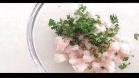 下午茶 - 鲜虾牛油果三明治