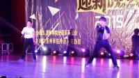 2015年惠州学院外语系迎新 双节棍表演