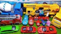 汽车总动员法拉利玩具车兰博基尼跑车超级飞侠消防车工程车挖土机搅拌车