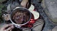 【屌丝吃大街】亚利桑那野营烧烤和本地手撕猪肉堡(美国户外野营)