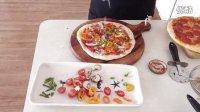 披萨制作全过程《下集》 - 意大利香肠/田园时蔬/鲜虾笋尖披萨