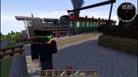 ★我的世界★Minecraft《铁路战争 坐着火车去旅游!美好的大自然啊!》蒸汽火车 车厢 火车教程 铁路
