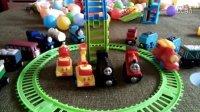 迪士尼托马斯小火车和他的朋友们玩具拆封试玩 托马斯玩具总动员