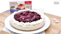 [Jennysta小吃货] 草莓芝士蛋糕 สตรอเบอร์รี่ชีสเค้ก Strawberry Cheesecake