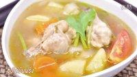 鸡肉和土豆汤 ซุปไก่มันฝรั่ง Chicken and Potato Soup
