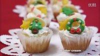 [Jennysta小吃货] 圣诞杯子蛋糕 Christmas cupcake