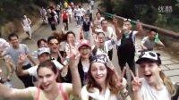 外国人游中国-俄罗斯嫩模游深圳梧桐山2015