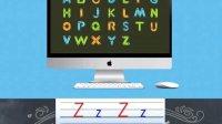 最标准的英文字母发音 学写英文字母 学爸英语