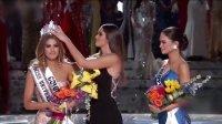 史上最尴尬 环球小姐决赛主持人竟报错冠军 151222