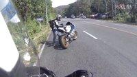 宝马s1000rr骑行高清视频,行车记录仪弱爆了