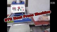 Pneumatic double stations heat press machine 40X60CM气动双工位U型最新面板无网址2015年11月英文